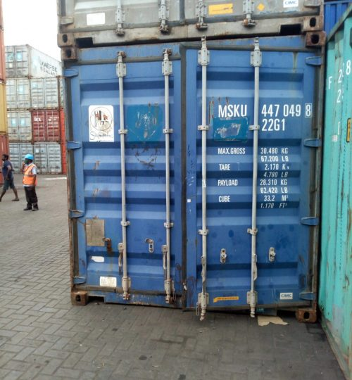 CFS Stuffed Container